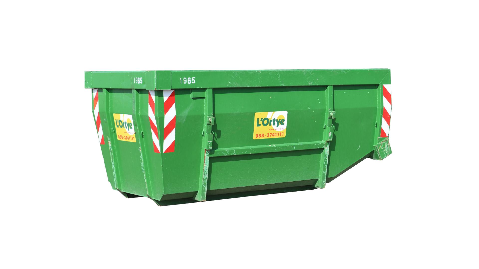 Container 10 m³ (portaalarm)